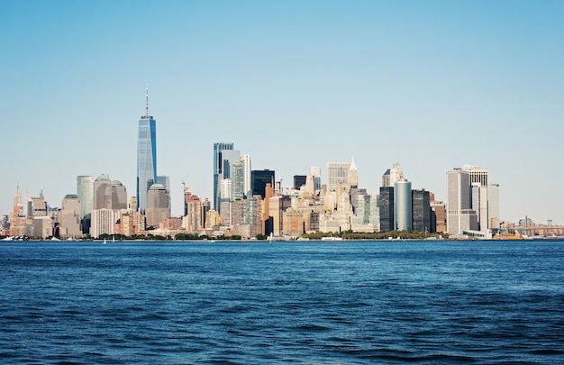 Panorama von new york city