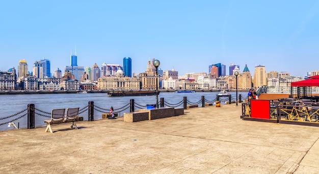 Panorama von shanghai bund