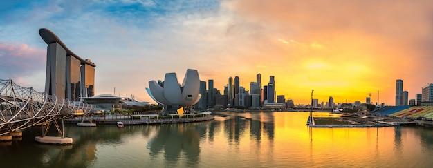 Panorama von singapur