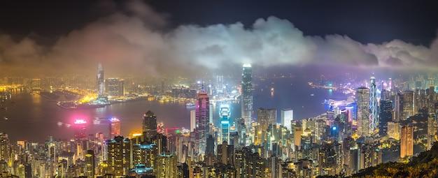 Panoramablick auf hong kong