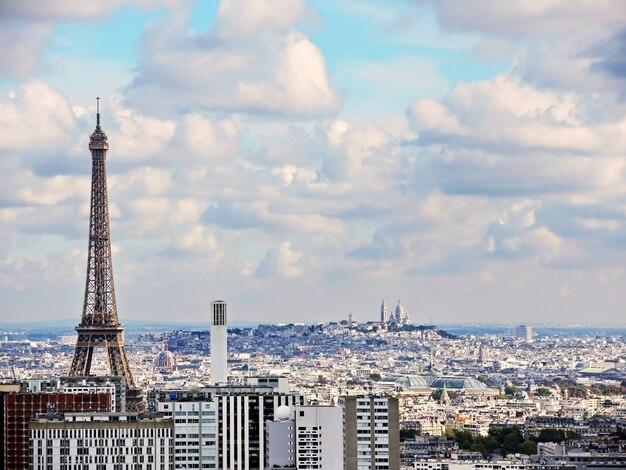 Panoramablick auf paris