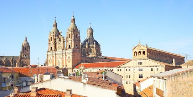 Panoramablick auf salamanca, spanien