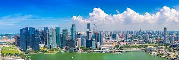 Panoramablick auf singapur