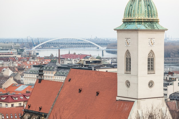 Panoramablick über bratislava