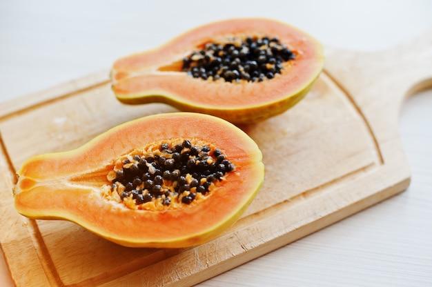 Papaya oder papaya