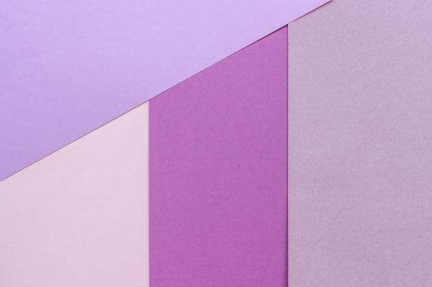 Papierbeschaffenheitshintergrund, abstraktes geometrisches muster von rosa purpurroten violetten farben für design