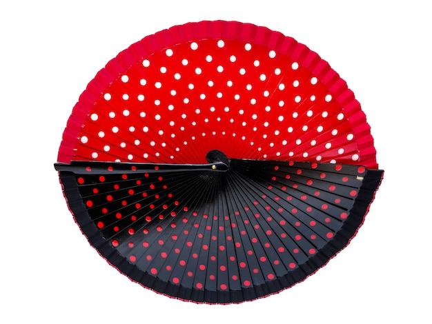 Papierfächer für flamencotanz