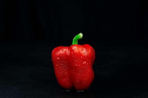 Paprika aus rotem paprika