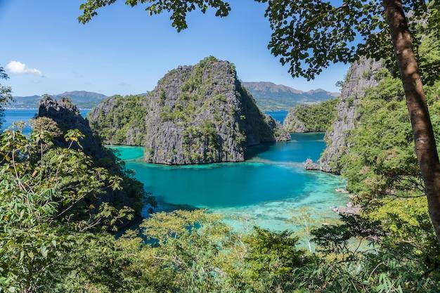 Paradies blaue lagune coron insel philippinen