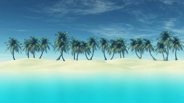Paradiesische strand