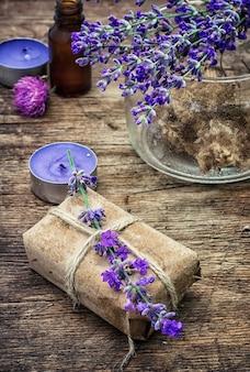 Parfüm-set für spa-behandlungen