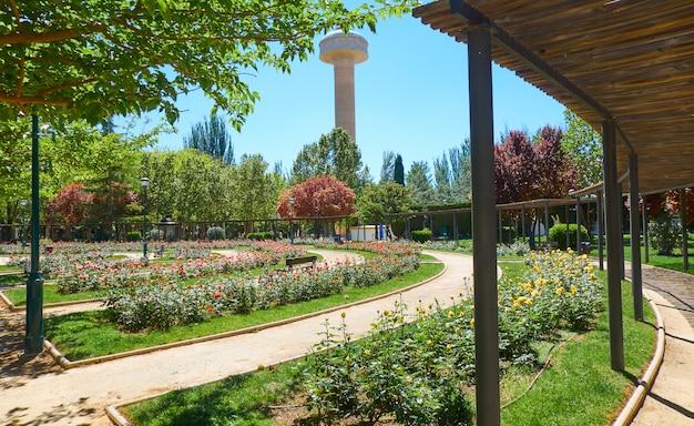 Park fiesta del arbol in albacete spanien
