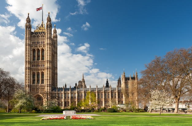 Parlamentsgebäude in london