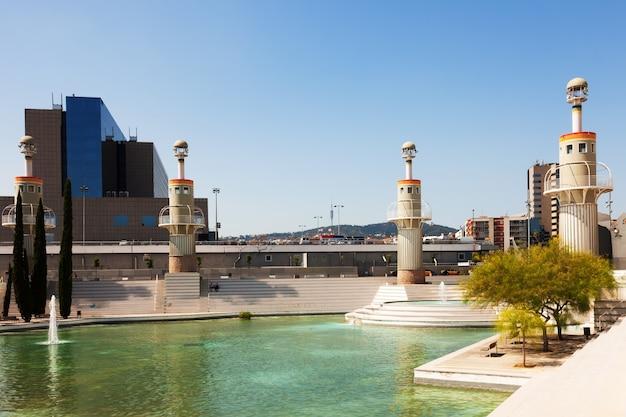 Parque de la espana industriell in barcelona
