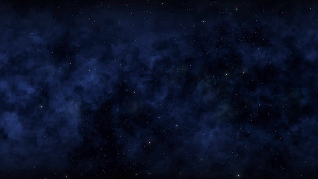 Partikel und sterne in der galaxie, abstrakter hintergrund. elegante und luxuriöse 3d-illustration für den kosmos