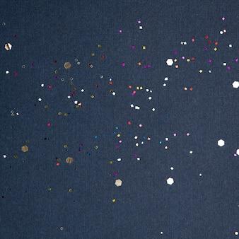 Party konfetti festlichen blauen hintergrund