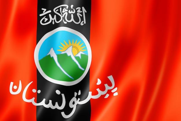 Paschtunen ethnische flagge, afghanistan und pakistan