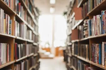 Passage zwischen Bücherregalen