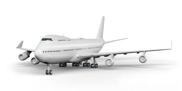 Passagierflugzeug 3d rendern