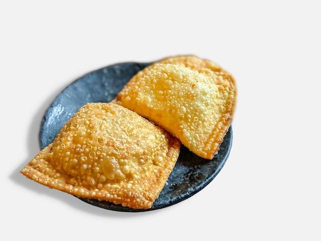 Pastell, brasilianischer snack. brasilianisches essen.