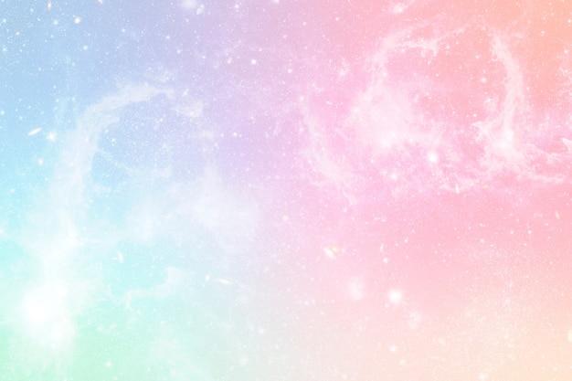 Pastellfarbener farbverlauf mit hellem bokeh-hintergrund