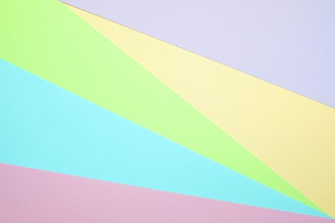 Pastellfarbenes papier flach zu legen