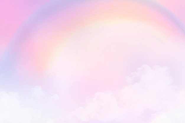Pastellhintergrund mit ästhetischem rosa steigungshimmel