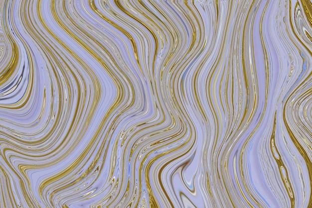 Pastellmarmorstrudelhintergrund handgemachtes weibliches fließen mit experimenteller kunst der goldbeschaffenheit