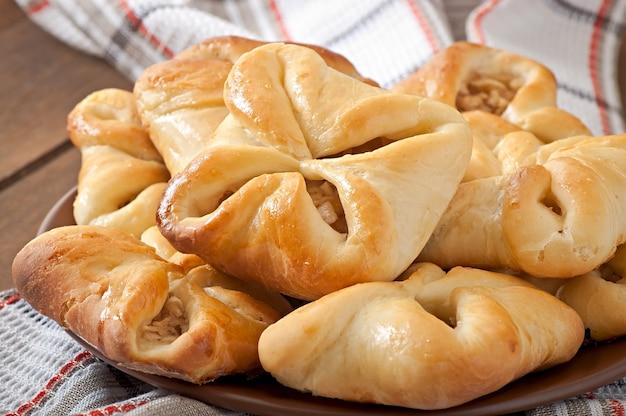 Pastetchen mit äpfeln