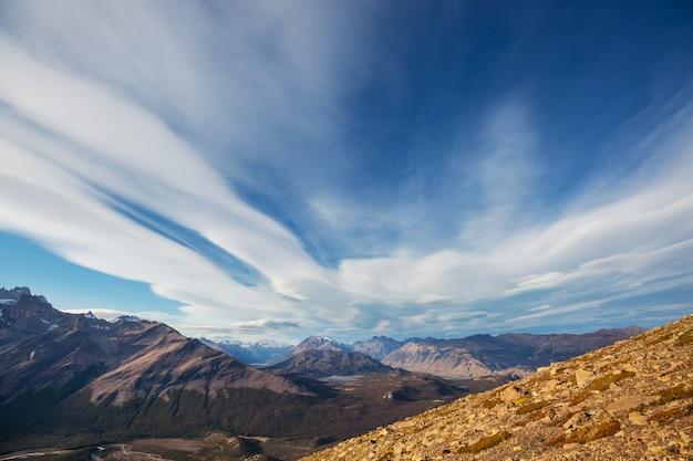 Patagonia landschaften im süden