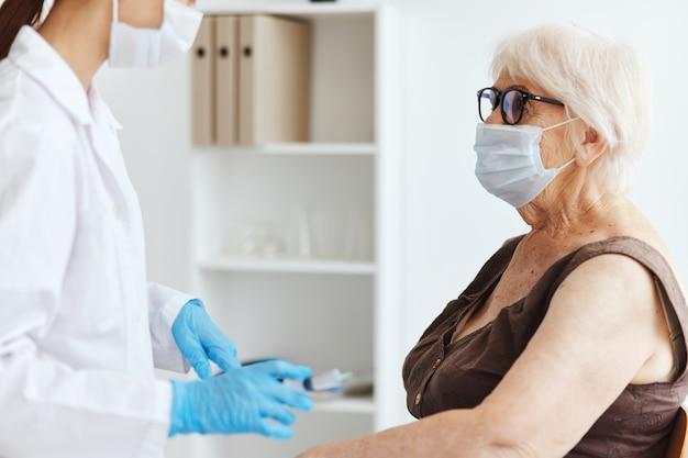 Patienten- und arzt-impfsicherheitsvirus-epidemie