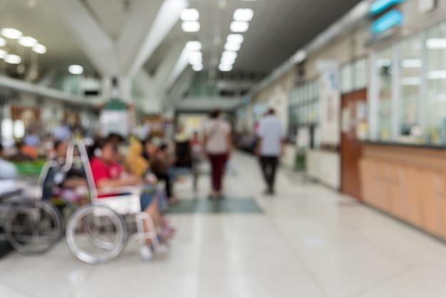 Patienten warten auf einen arzt