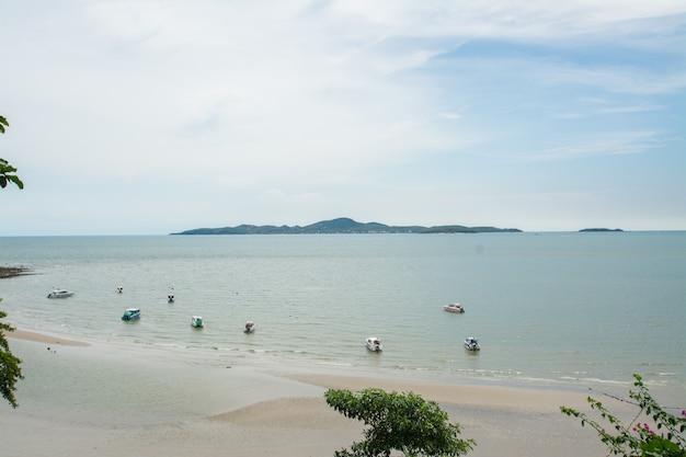 Pattaya strand und stadt, chonburi, thailand