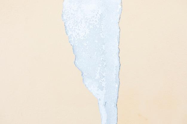 Peeling auf betonwand