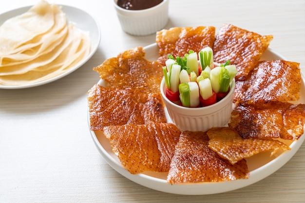 Peking-ente - chinesische küche