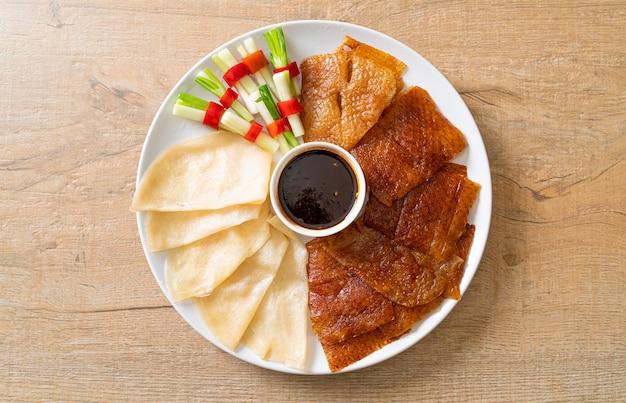 Peking-ente - chinesischer essensstil