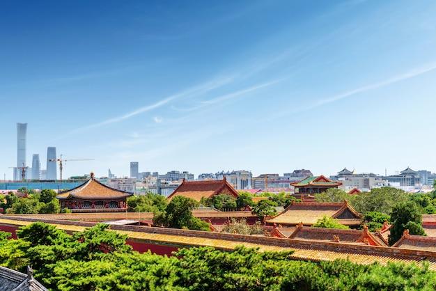 Peking kaiserpalast, china
