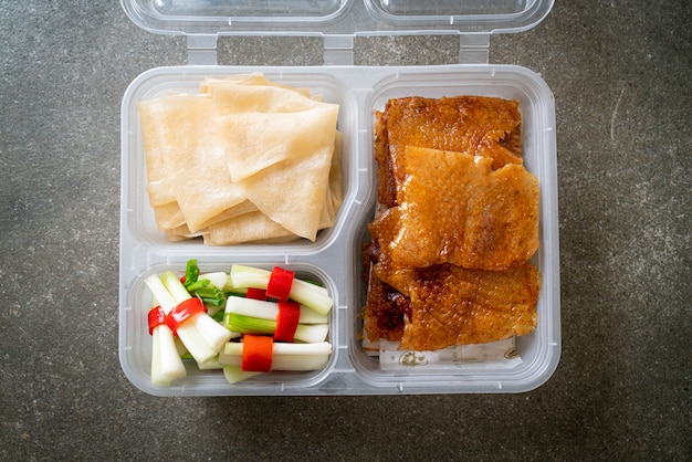 Pekingente in lieferbox
