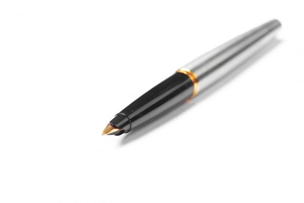 Pen isolated auf weißem hintergrund