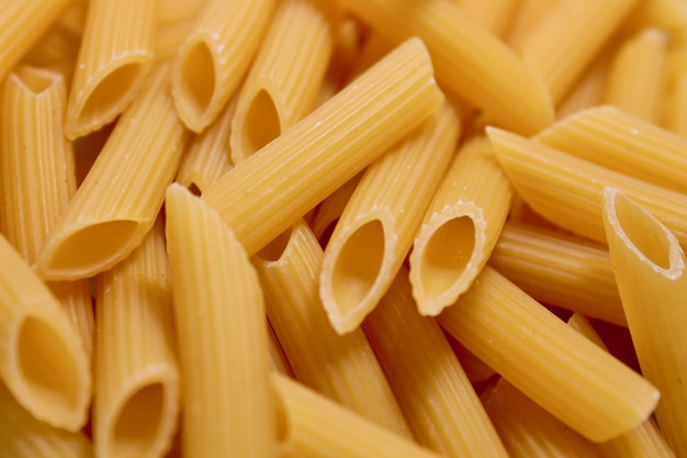 Penne rigate pasta hintergrund