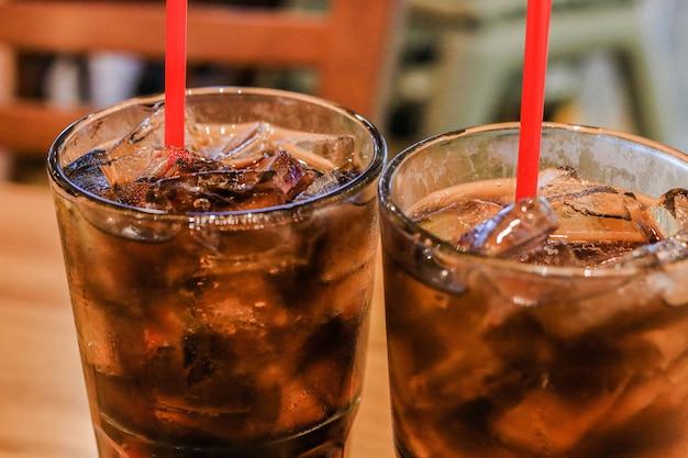 Pepsi im glas süß cool lecker