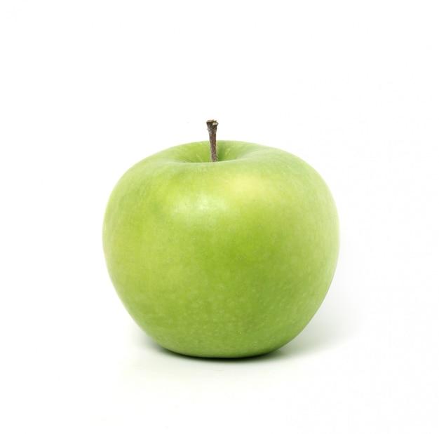 Perfekter frischer grüner apfel