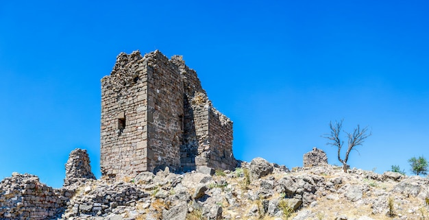 Pergamon antike stadt in der türkei