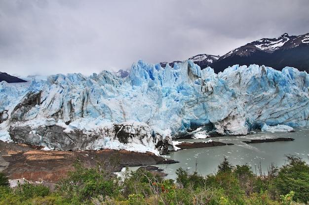 Perito moreno gletscher schließen el calafate, patagonien, argentinien