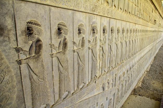 Persepolis / iran - 30. september 2012: persepolis ist die hauptstadt des alten reiches im iran