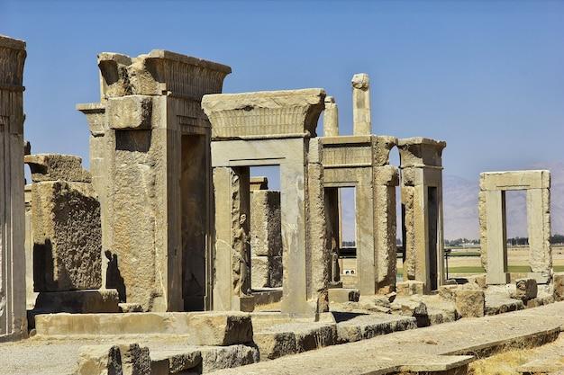 Persepolis ruinen des alten reiches im iran