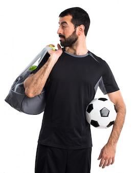 Persönlicher athlet hintergrund latein sauber