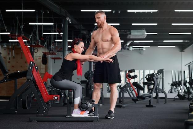 Personal trainer coach instruktor