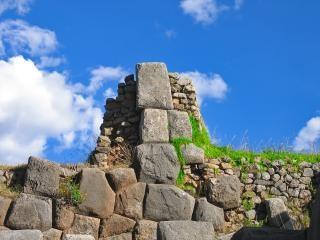 Peruanischen inka-ruinen