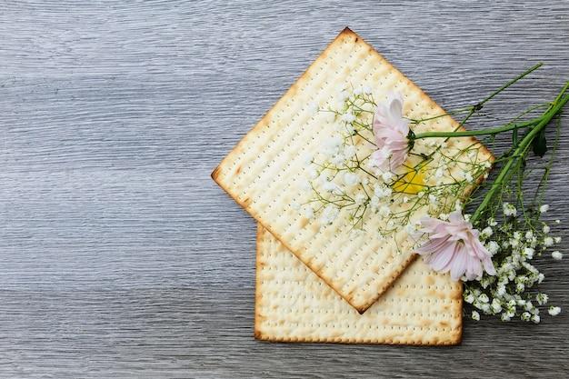 Pesach matzoh jüdisches passahfestbrot